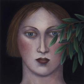 Madeleine Winch - Contemplation (2010)- oil on canvas - 75x75cm