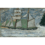 Alfred Wallis - a sailing ship