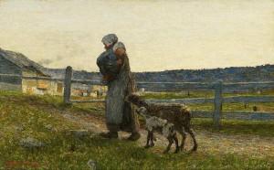 Giovanni Segantini - Le due madri (1891)