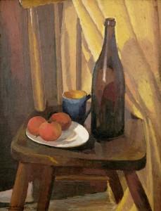 Roland Wakelin - Still life on a chair - 1926