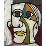 Dora Maar - Portrait of Picasso (1936)