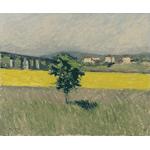 Gustave Caillibotte - Prairie au pont d'Argenteuil