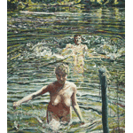 Henry Korda - Three Bathers (1986)