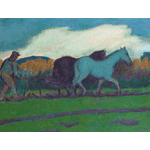 Jan Altink - A Plough Team (1924)