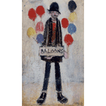 Harold Riley - Balloon seller (1973)