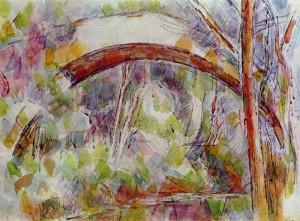 cezanne_river_with_bridge_1906b