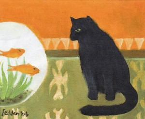 Mary Fedden - Watching Fish (2006)