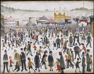 L. S. Lowry - Good Friday, Daisy Nook