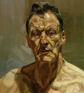 Lucian Freud - Reflection (1985)