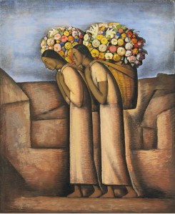 Ramos Martinez - Flower sellers (circa 1933)