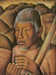 Ramos Martinez - Untitled (Labrador) circa 1944