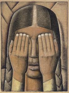Ramos Martinez - Súplica (1942)