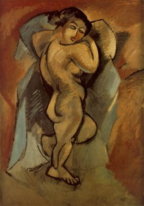 Georges Braque - Large Nude (1908)