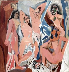 Pablo Picasso - Les demoiselles d'Avigon (1907)