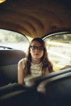 William Eggleston - Girl in car (1970)