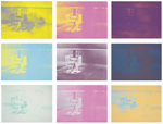 Andy Warhol - Electric chair - Set of screenprints (1971)
