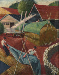 William Dobell - Farmyard, Dorking (1934)