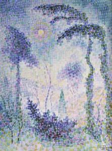 Jean Metzinger - Paysage Bleu (1906-07)