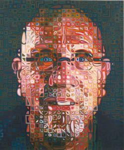 Chuck Close - Self-portrait