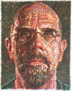 Chuck Close - Self-portrait (2007)