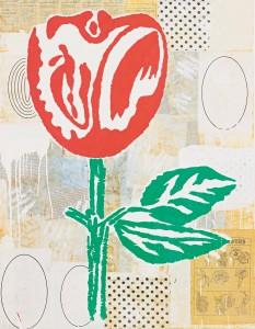 Donald Baechler - Hybrid tulip #4 (1993)