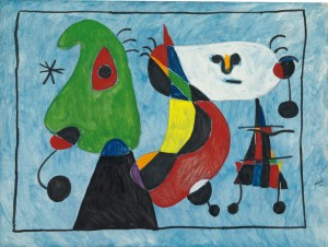Joan Miro - Untitled (1947)