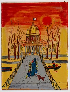 Ludwig Bemelmans - Cover for Madeline's Rescue (1953)