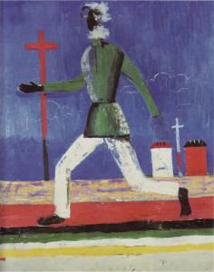Kazimir Malevich - Running Man (1932-34)