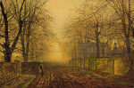 John Atkinson Grimshaw - Under the Beeches