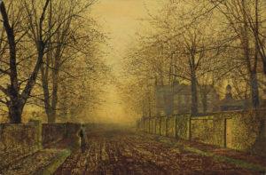 John Atkinson Grimshaw - Under the Beeches